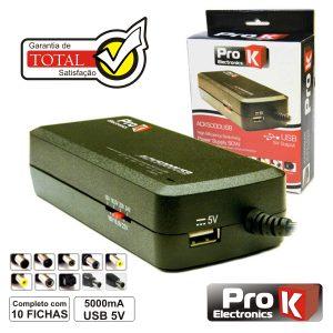 Alimentador Switching 15-24V 5a C/USB PROK - (ACK5000USB)