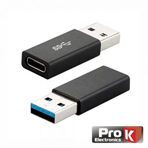 Adaptador USB-A / USB-C 3.0 PROK - (ADAP-USBA/USBC3.0)