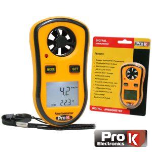 Anemómetro E Termómetro Digital PROK - (AND030A)