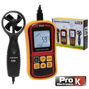 Anemómetro E Termómetro Digital PROK - (AND045A)