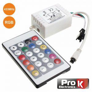 Controlador P/ Fita LEDS Digitais PROK - (CFL40RGB)