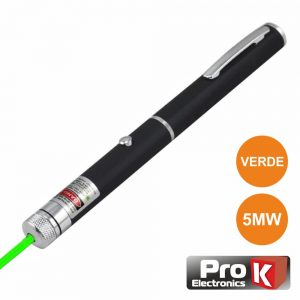 Ponteiro Laser Verde 5mW PROK - (CLA005MWG01)