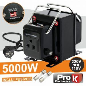 Conversor 110v-220v / 220v-110v 5000W PROK - (CONV5000W)