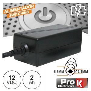 Alimentador Switching 12V 2a PROK - (FAS12V2AB)