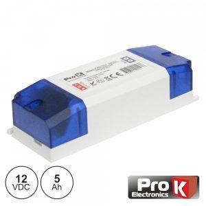 Alimentador Switching 12V 5a PROK - (FAS12V5AK(C))