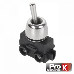 Interruptor Alavanca Miniatura Unipolar On-Off 2A PROK - (ITR207A)