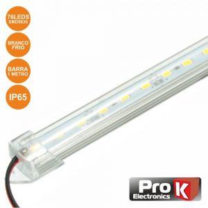Barra 1m 76 LEDS 5630 SMD Plástico 6000K 230V PROK - (LLB76AWC)