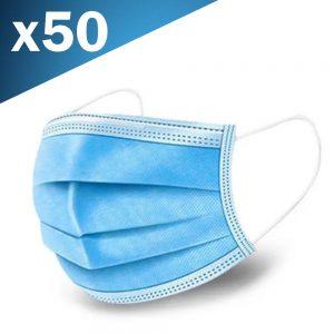 Máscara de Proteção Anti Bacteriana 3 Camadas - (MASK19)