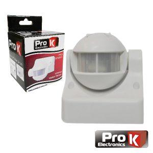 Sensor De Presença Pir 220v 180º PROK - (PKD SENS01)