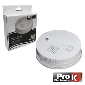 Detetor De Fumos C/ Alarme PROK - (PKD SENSFUMOS)