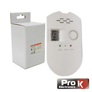 Detetor De Gás C/ Alarme PROK - (PKD SENSGAS)