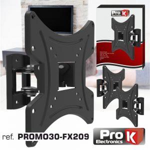 "Promo 3 Suportes Lcd/LED 13/40"" C/ 1 Braço Vesa 200/200 20kg - (PROMO30-FX209)"