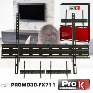 "Promo 3 Suportes Lcd/LED 32/65"" Vesa 600/400 45kg PROK - (PROMO30-FX711)"