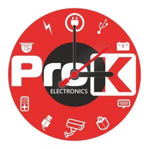 Relógio De Parede Redondo Design PROK - (RELOGIO-PROK)